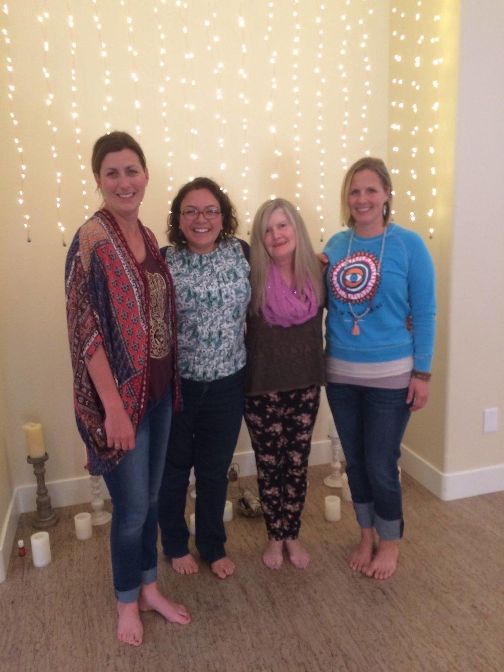 Abril 2016, Certificada por Yoga Alliance, San Luis Obispo, CA, USA