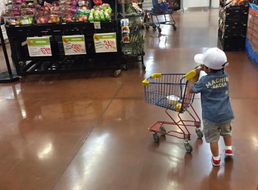 """El Sibarita """"haciendo su compra"""" --> así dice gracias a Peppa Pig (sí sí también caí en sus redes)"""
