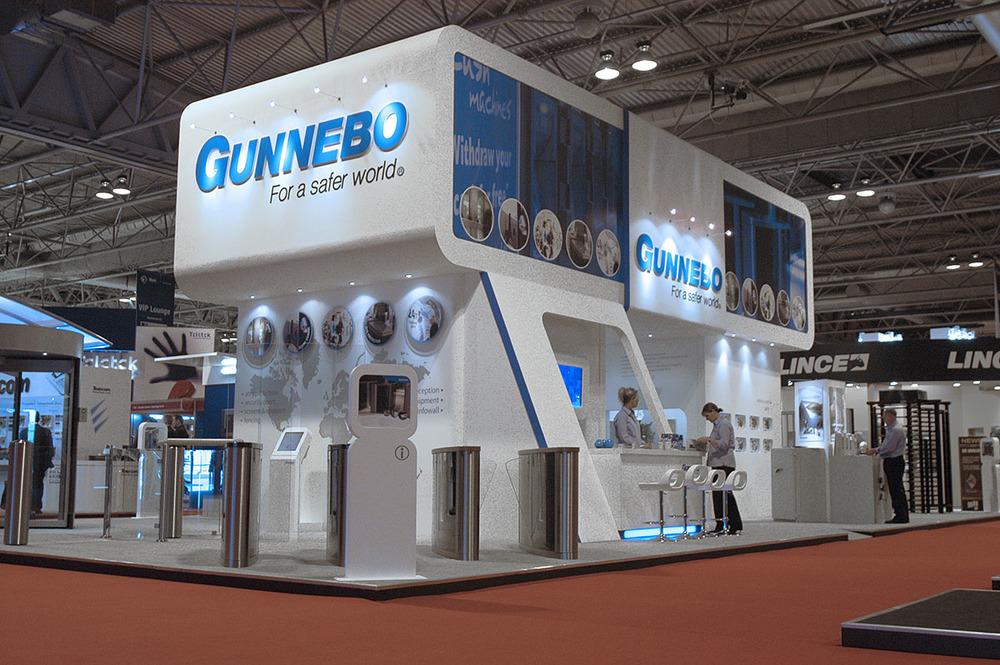 Exhibition Stand Design Hertfordshire : Gunnebo ifsec exhibition u nest creative design print