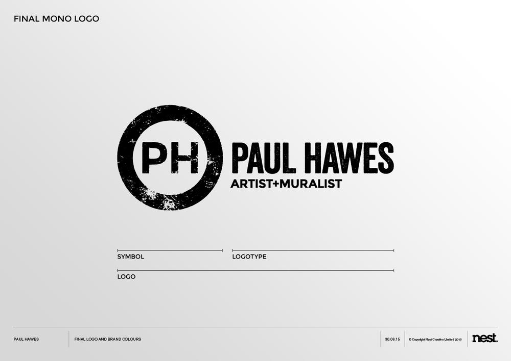 paul hawes final logo