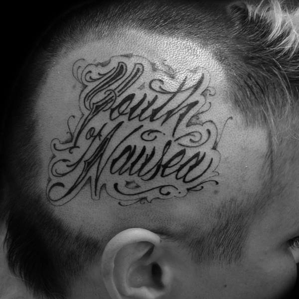 lettering Justin Turkus Philadelphia fine line script custom best Tattoo Artist calligraphy type youth naueau head.jpg