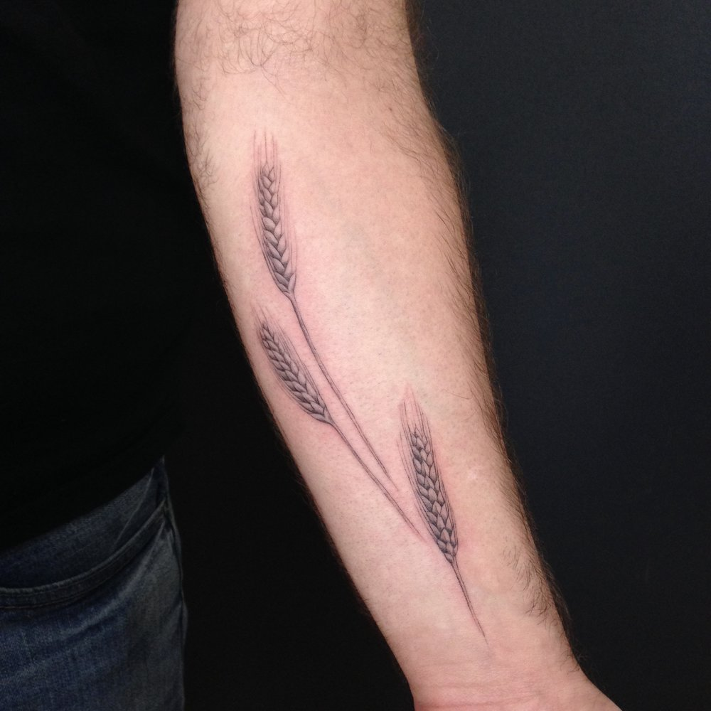 fine line single needle Justin Turkus Philadelphia best tattoo artist wheat.jpg