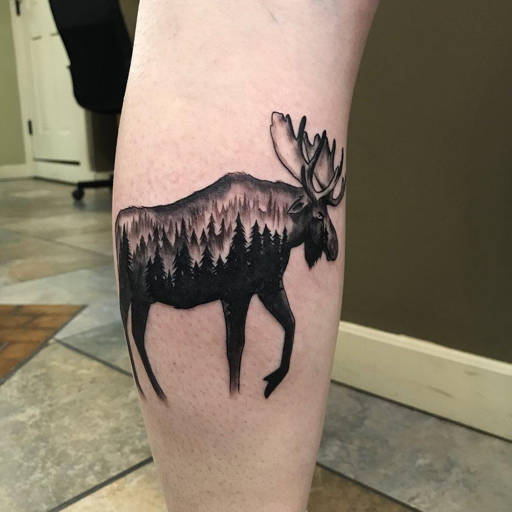 bg Justin Turkus Philadelphia fine line lettering best tattoo Artist moose trees black grey fullsize.jpg