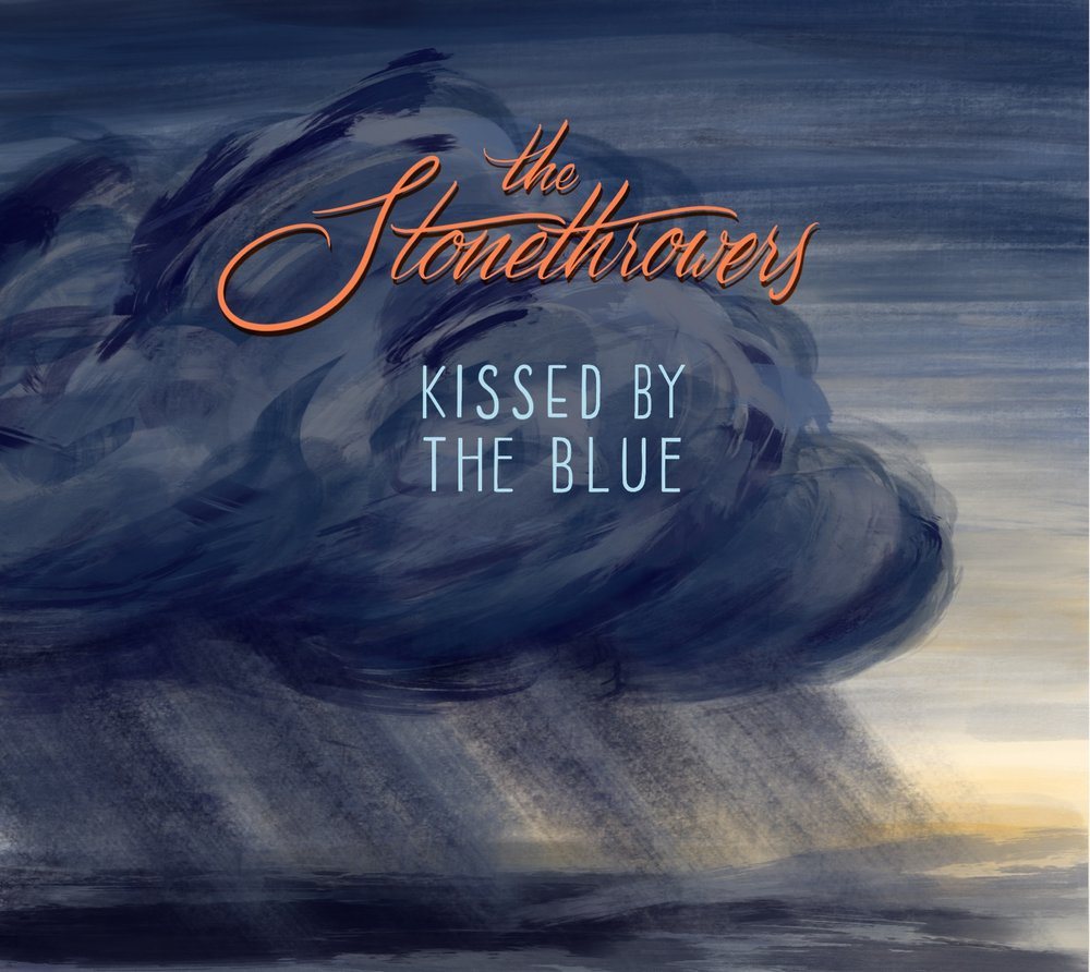 graphic design Justin Turkus Philadelphia tattoo artist the stonethrowers kissed by the blue cover album art.jpg