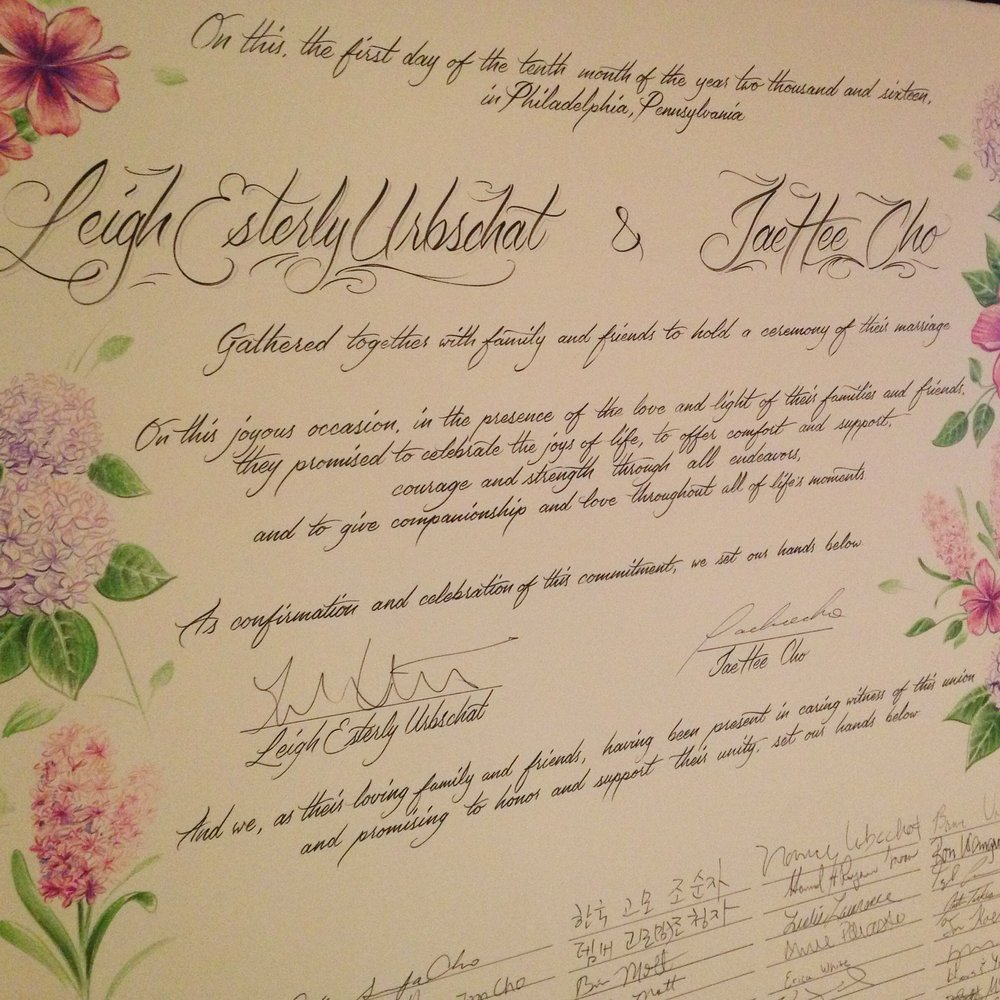 graphic design Justin Turkus Philadelphia tattoo artist wedding certificate calligraphy brush pen angle.jpg