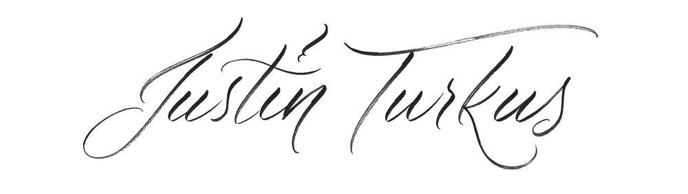 Lettering — Justin Turkus