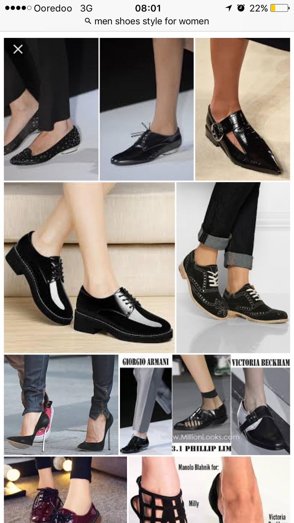 19f07511b Men style shoes. احذيه موديل رجالي للسيدات