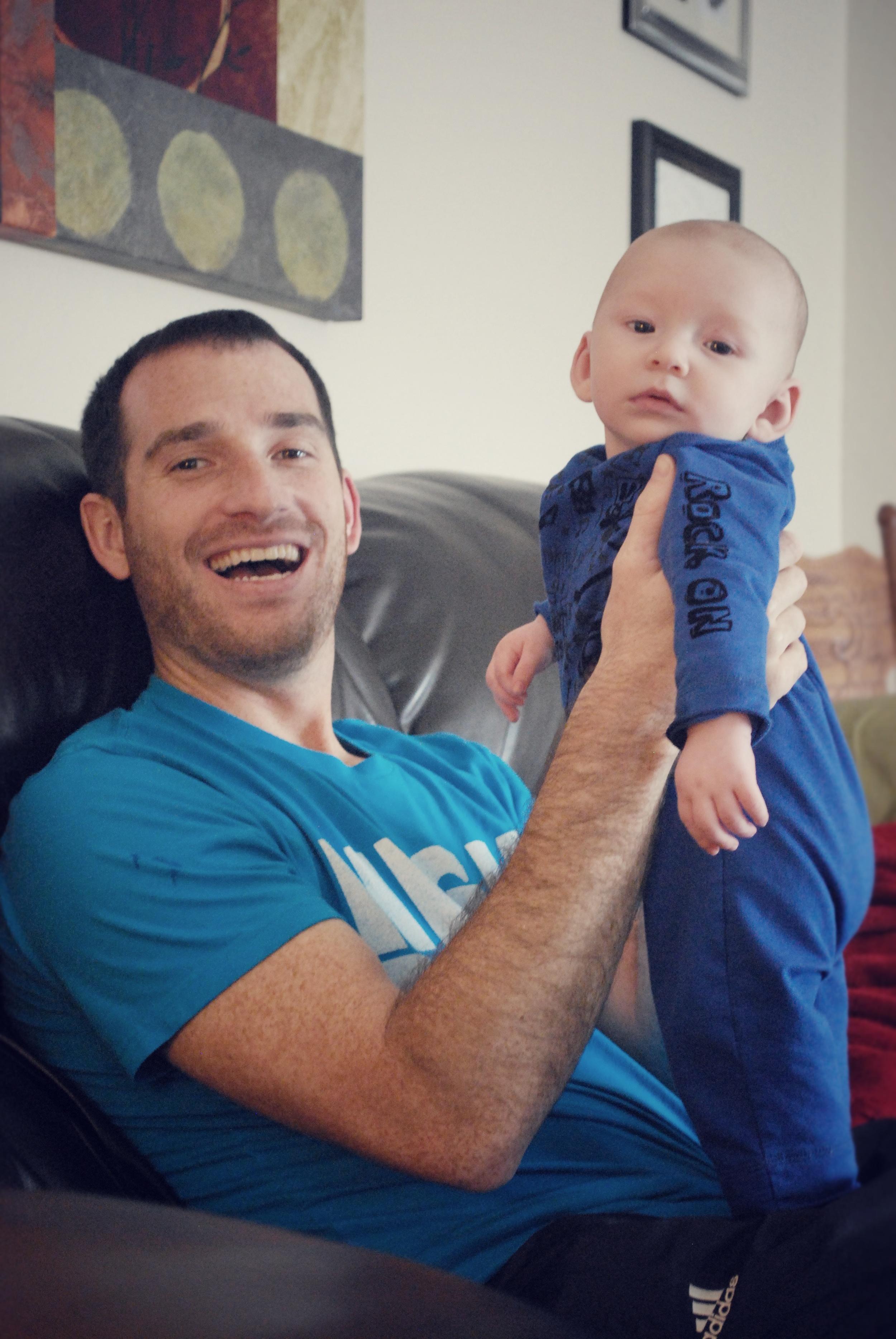 micah&daddy