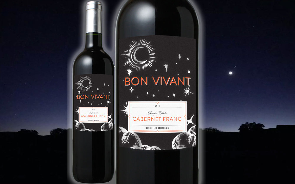 Bon Vivant - Label Design