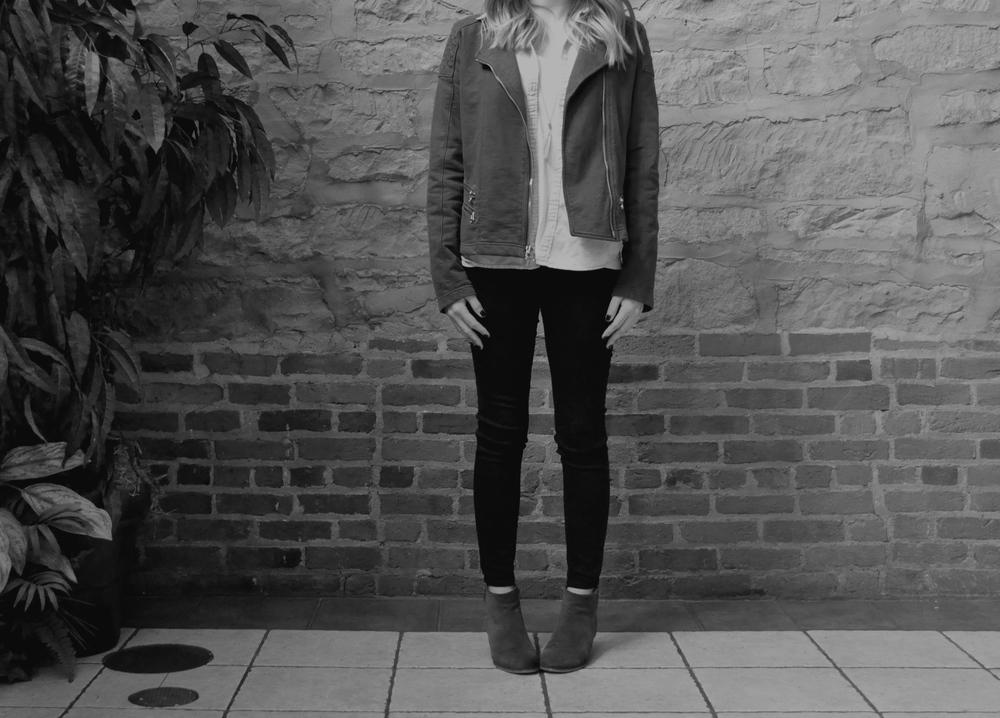 Hello Moto | Knit Jacket