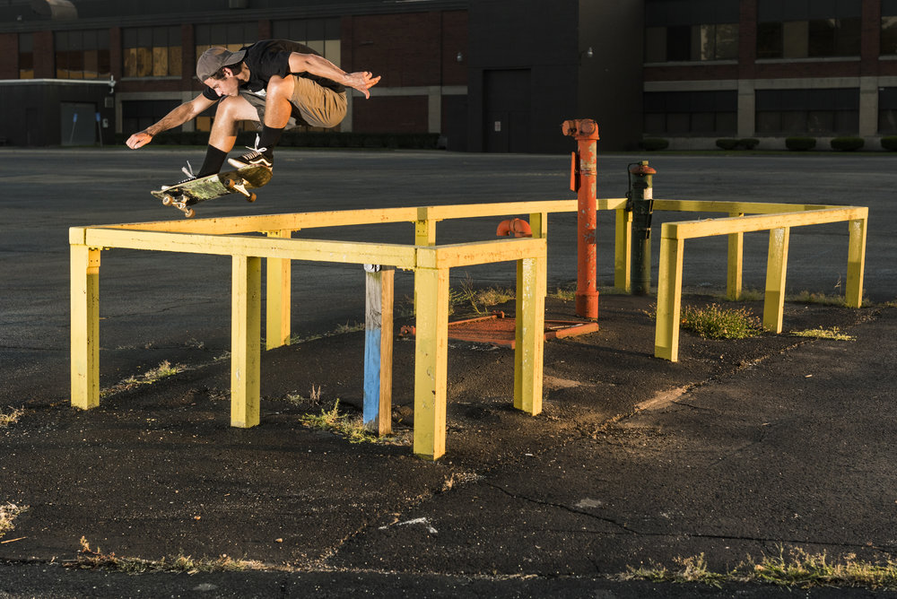Taryn Ward, bump to bar ollie.
