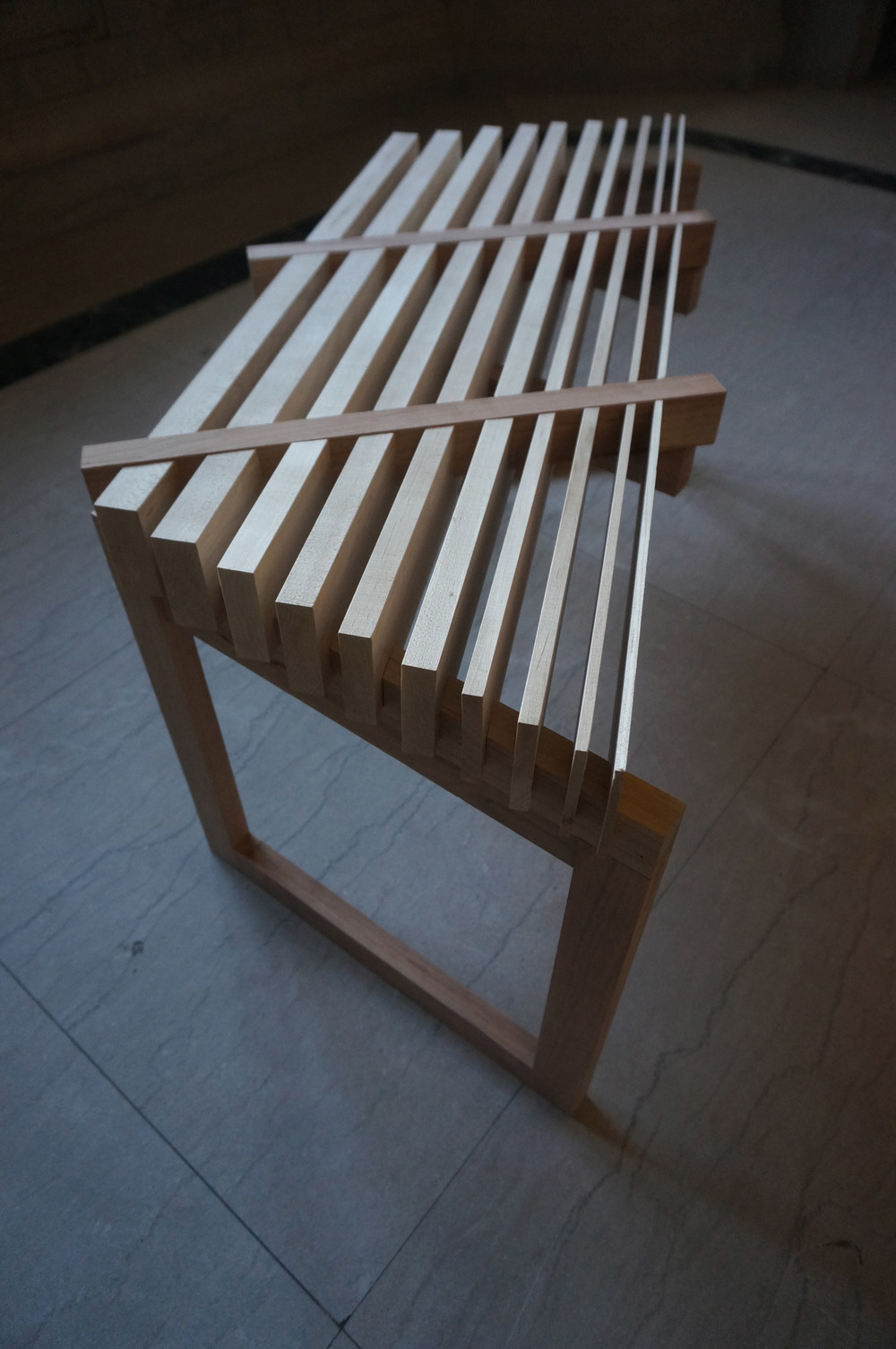 Bench for Two People  (Thick and Thin)      S15   | Aileena Gray (B.Arch 2017)