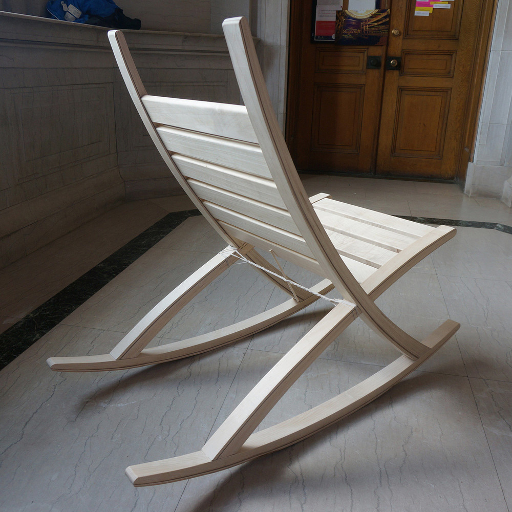 Chair (Curves)S15| Kimberley Schuessler (B.Arch 2015)