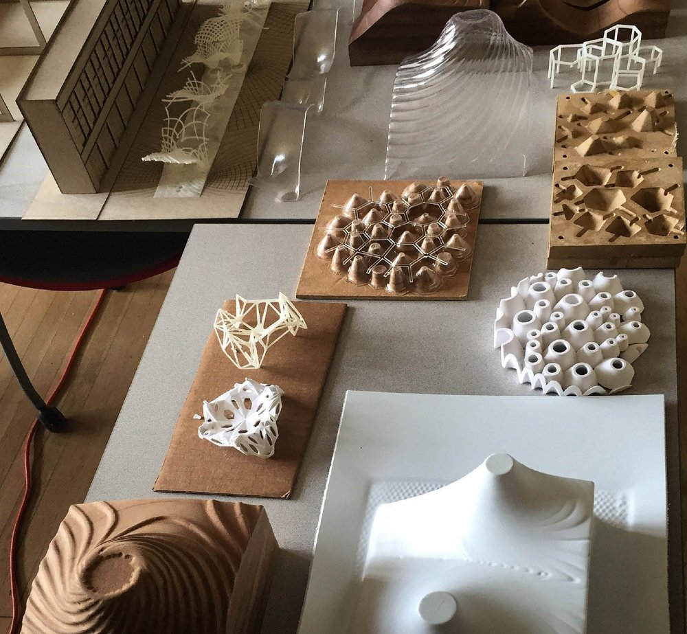 Collective work from Spring'15:Pradipta Banerjee (MUD'15), Cy Kim (B.Arch'16), Tommy Sterling (B.Arch'16), Gavin Dsouza (MUD'15)