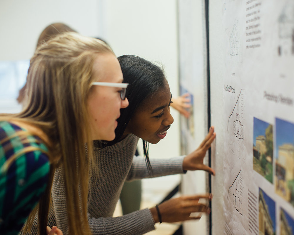 EQUITY & DIVERSITY  Professor Dr. Erica Cochran Hameen and CAE staff are currently pursuing funding to learn more about the attitudinal effects of matched/same gender or race building industry professional mentors on middle school students in STEM classes.