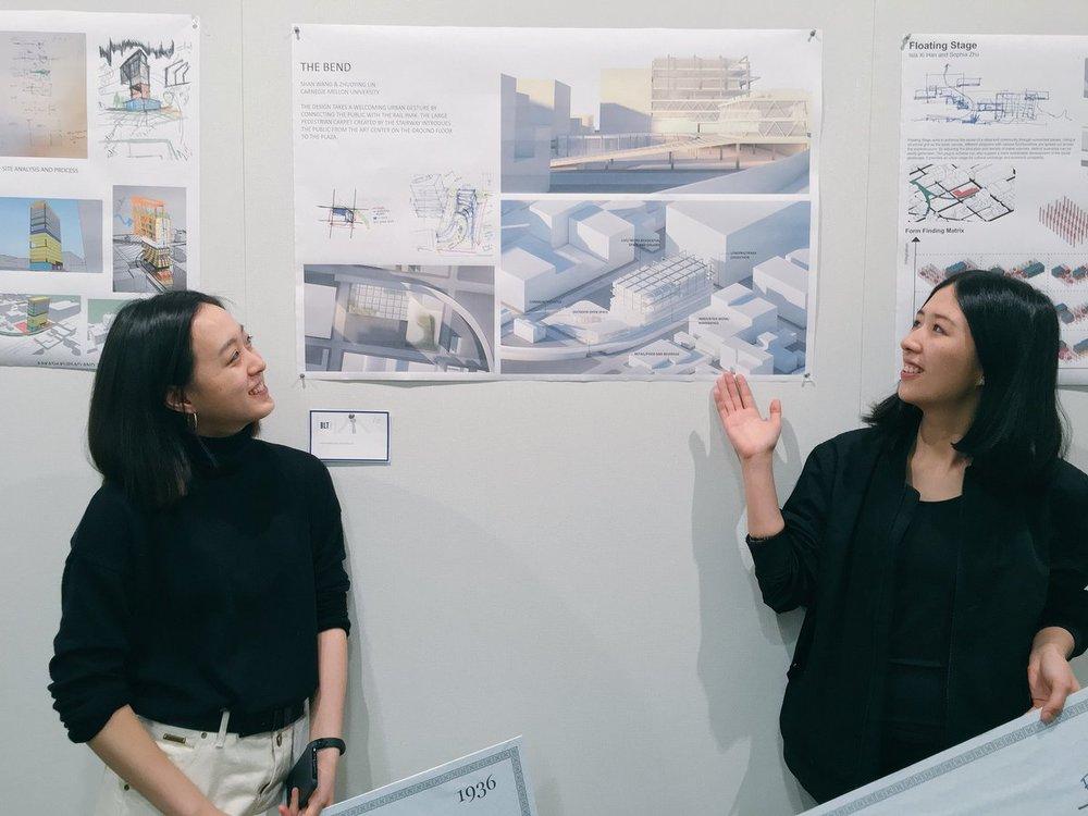 The team developed a plan for the new Rail Park in Philadelphia.