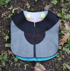 A vest for mushroom hunting