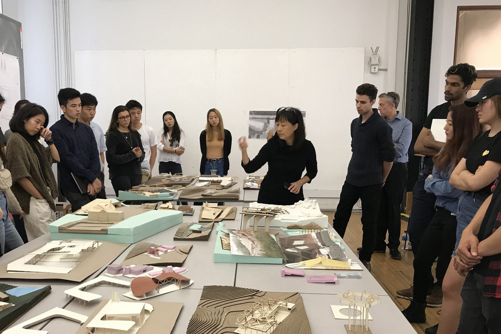 MAD Architects Qun Dang studio critique - Fall 2018