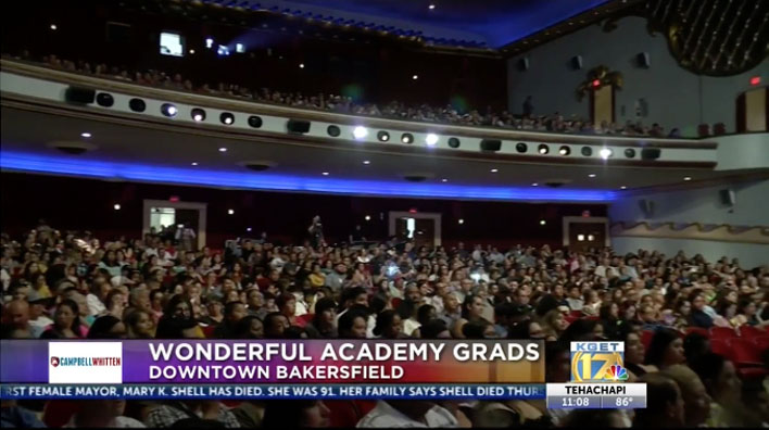 Wonderful College Prep Academy celebrates graduates at Fox Theater