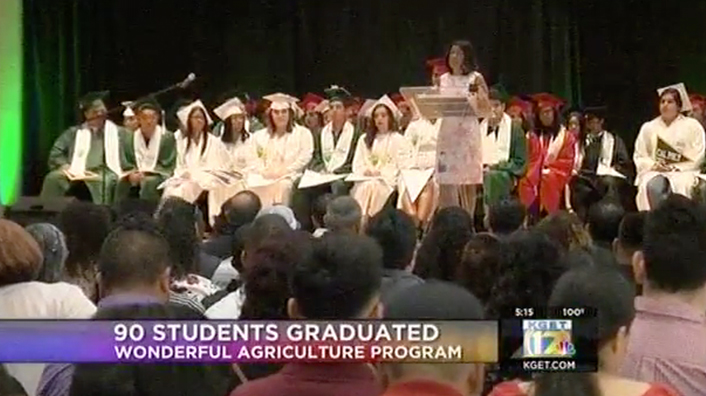 90 students graduate from Wonderful Agriculture Program