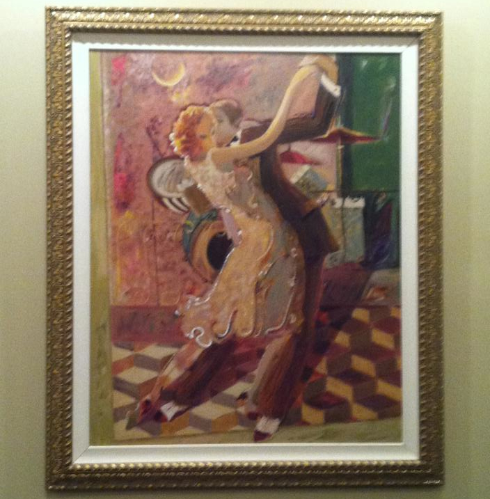 PHOTO CREDIT: CARTER HOUSE -   PAINTING BY SABZI  - Tango for Two