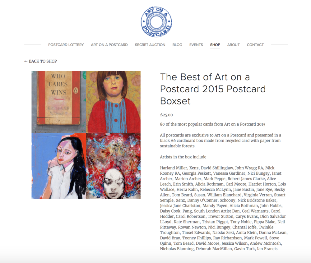 Best of Art Postcard Box Set 2015