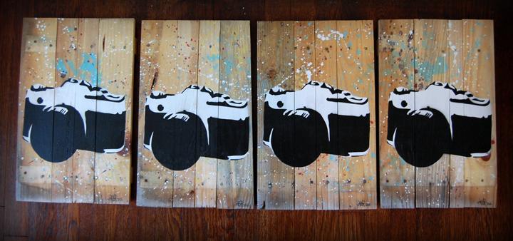 Camera Stencils by Tanner Frady