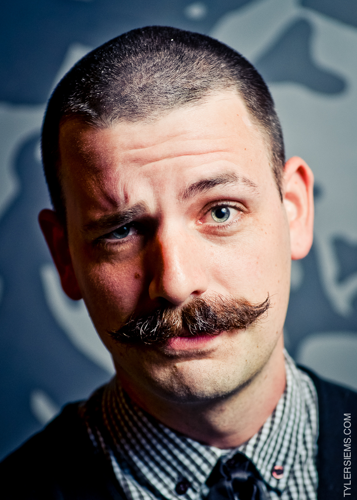 JD Epperson won People's Choice, but has a mighty fine mustache!