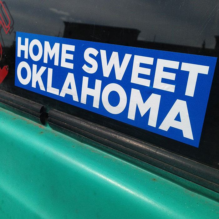 We also have some new stickers in store! Grab a bumper sticker to represent this great state!