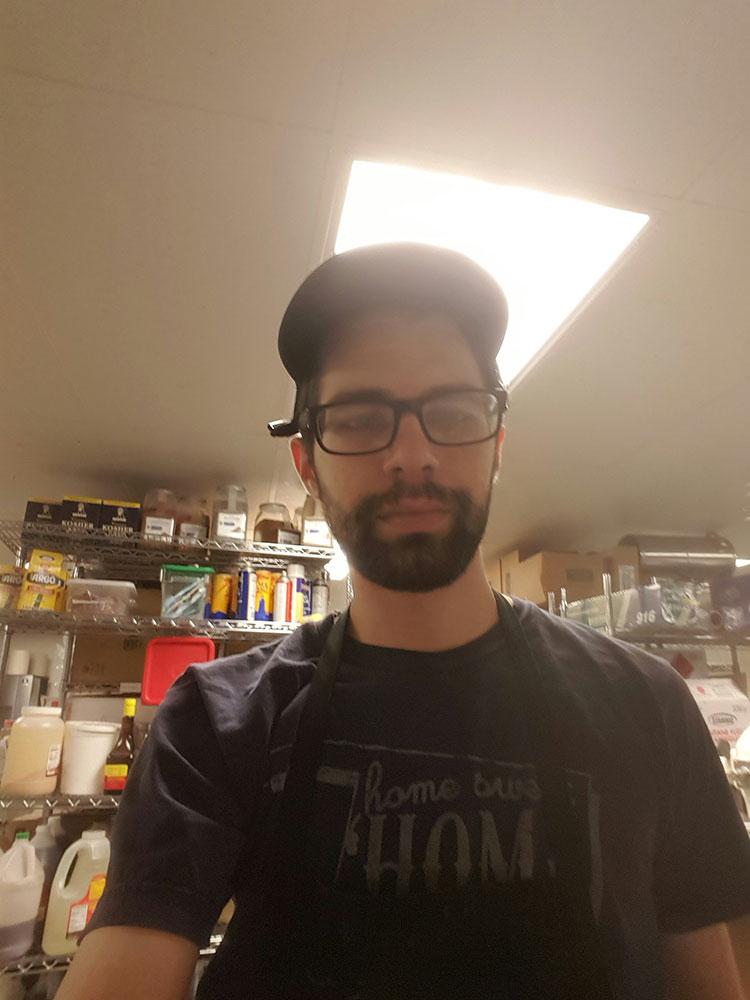 """Living that  Waffle Champion  prep kitchen life."""