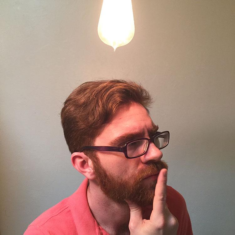 You've got the right idea -grow a beard!