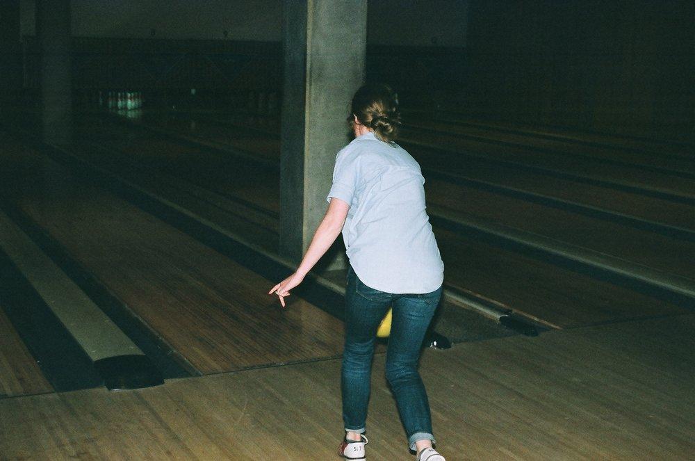Lindsey, you throw like a girl.