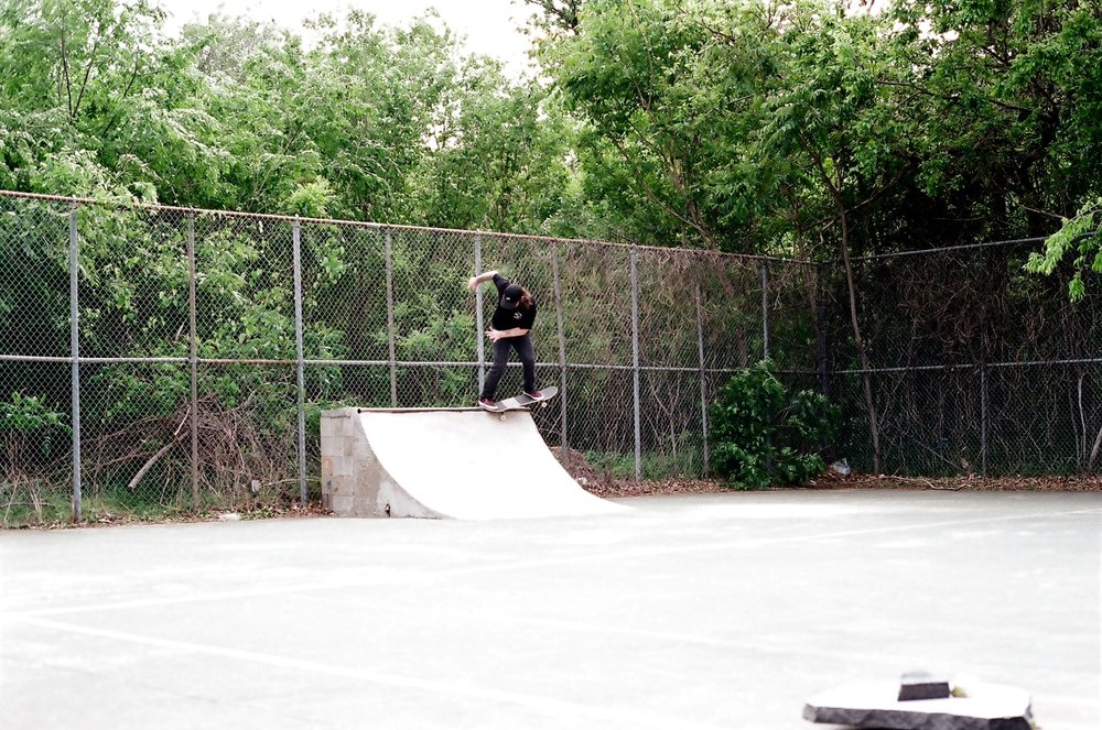 Tbird with a fakie to pivot fakie.