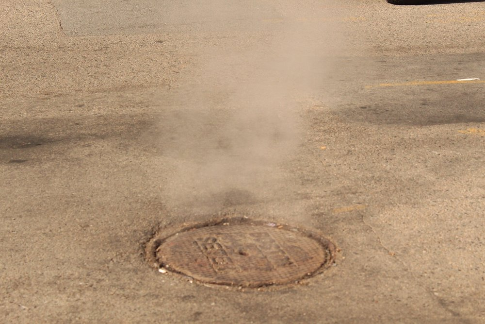 I had always seen the steaming sewer grates in movies and was pleasantly surprised to get to see them in person.