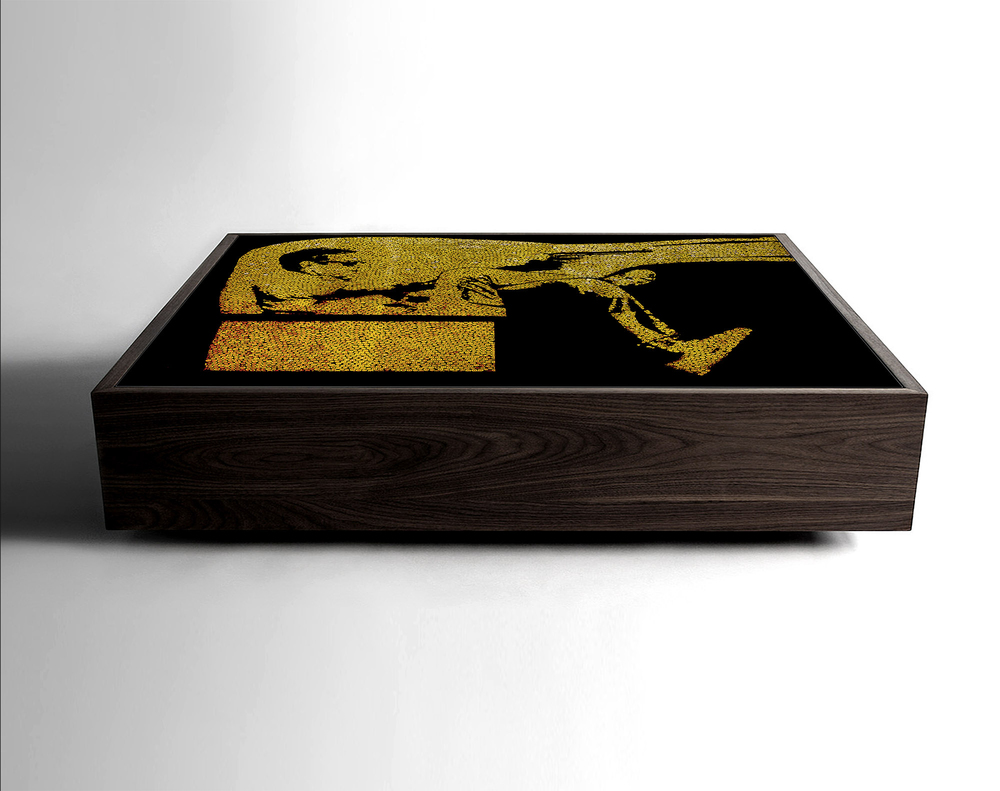 Steve Mcqueen Bullet Shell Table (2012)