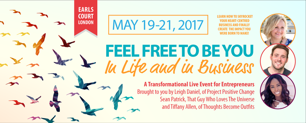feel free live event for entrepreneurs 2017