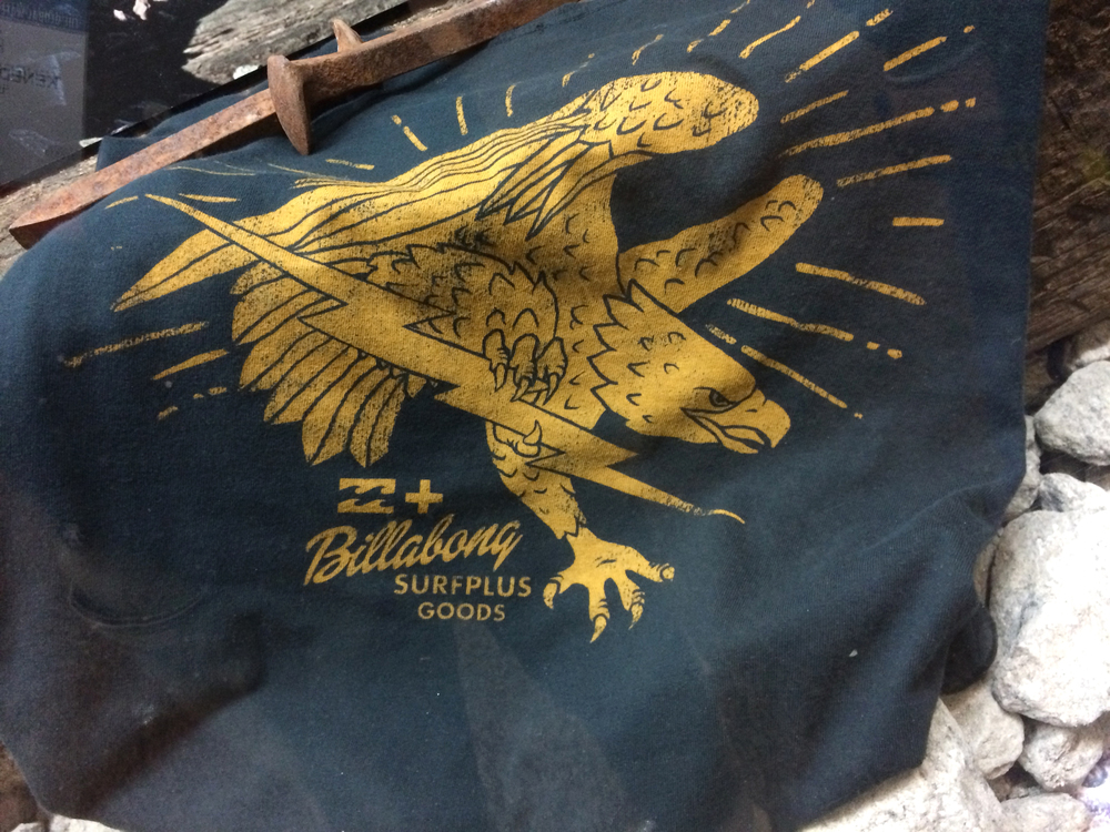 An eagle for Billabong