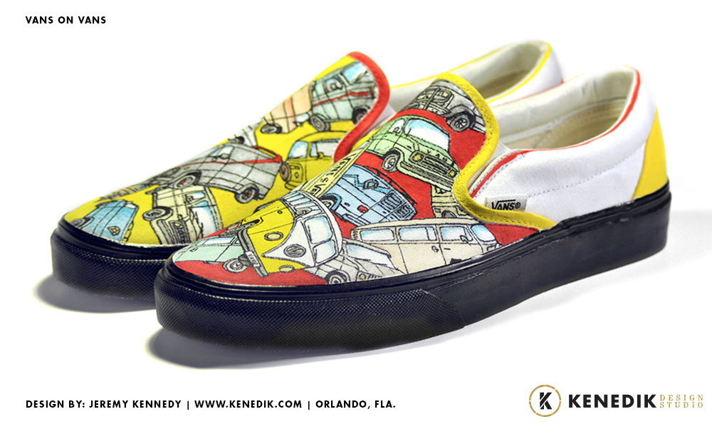 In 2010 We Were Commissioned By Vans To Create A Variety Of One Kind Shoes For Display Their Flagship Stores As Part World Wide Custom Culture