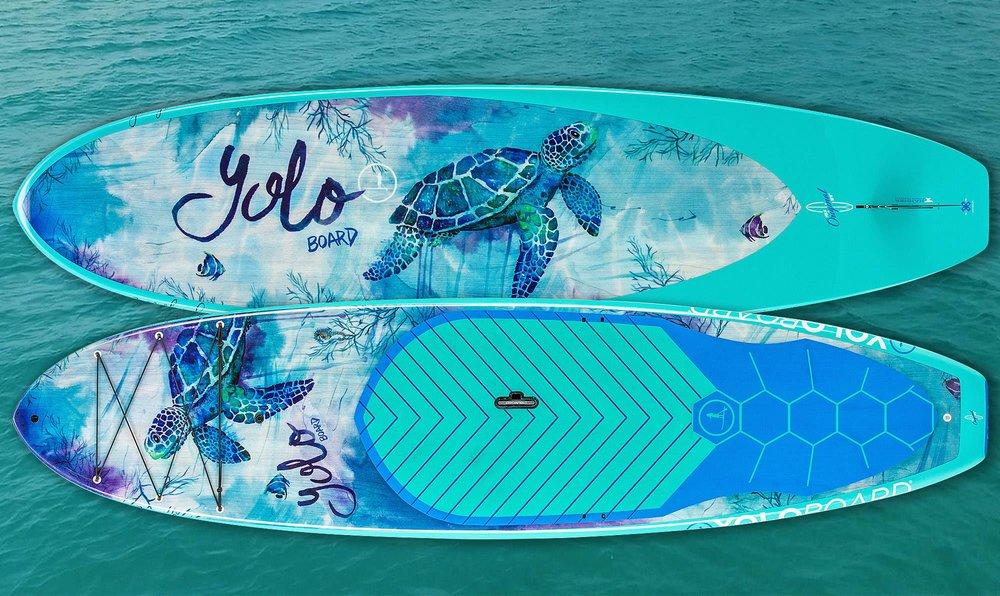 Yoloboard Turtle bay by Jeremy Kennedy | kenedik.com