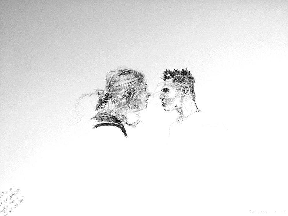 "untitled, 24""x18"", graphite, 2016."
