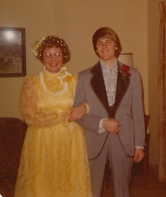 Trudy and her prom date
