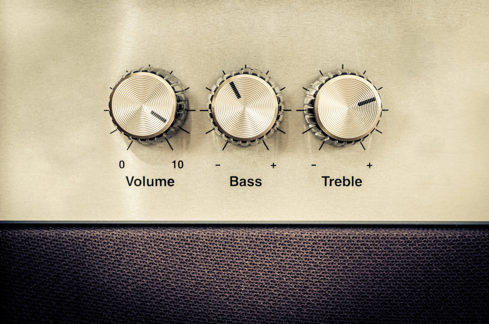 Speaking - Volume, Bass, treble - Is Your Audience Listening?