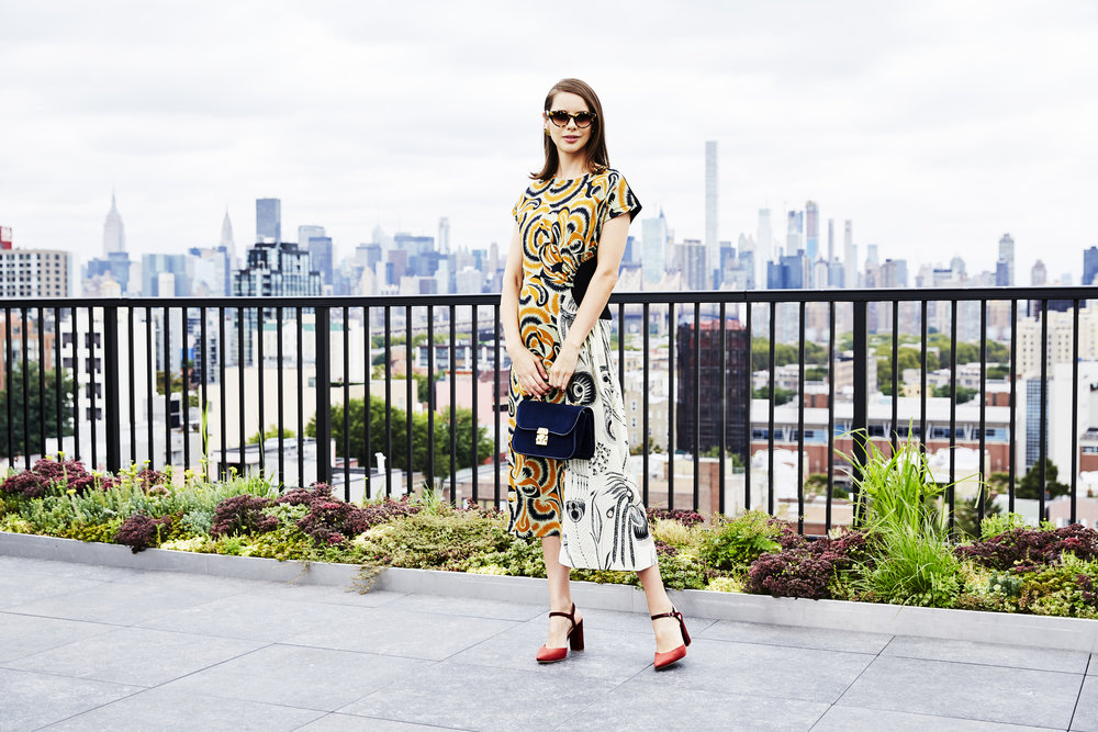 With our style series  Barneys Shoe Stories , we put ourselves in the shoes of dynamic women whose lives are inspiring us with every step they take. Meet Marina Ingvarsson, a New York–based stylist who balances fashion-forward elegance with practicality for a schedule that never stops.