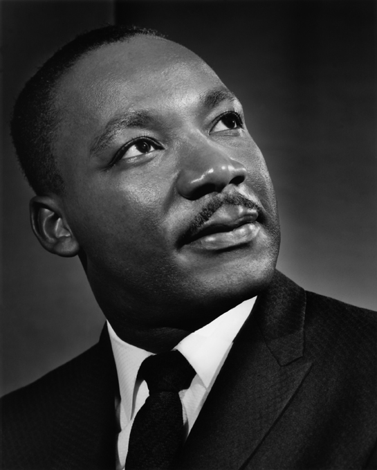 Dr. Marting Luther King, Jr., 1962. Photograph by Yousuf Karsh.