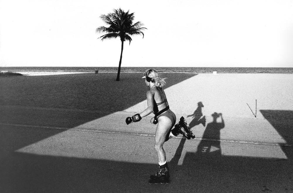 Roller Girl, 1992. Photograph by Ken Van Sickle.