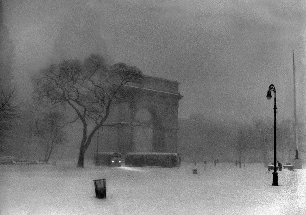 Washington Square Snow, 1962. Photograph by Ken Van Sickle.