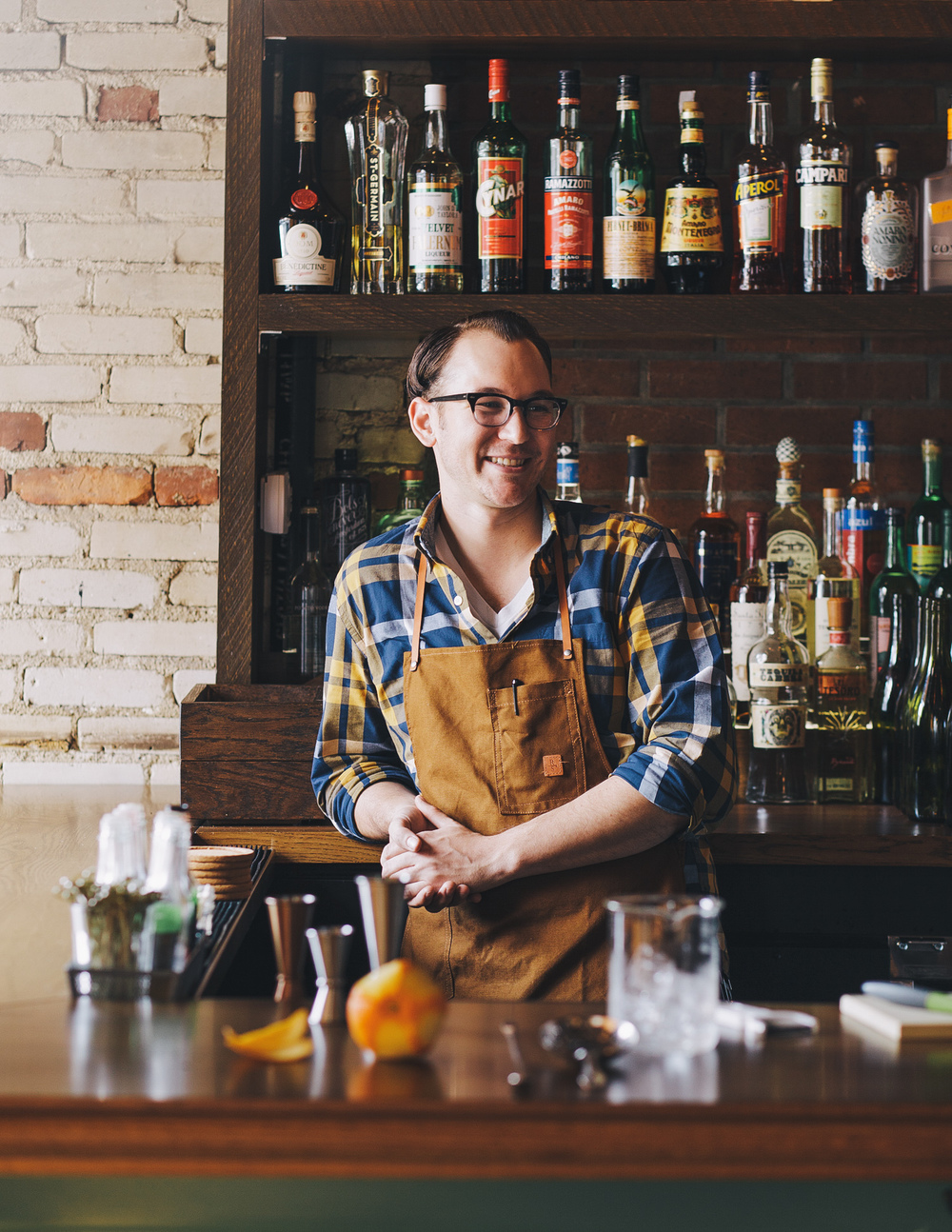 Bartender Photographed by Adam DeTour