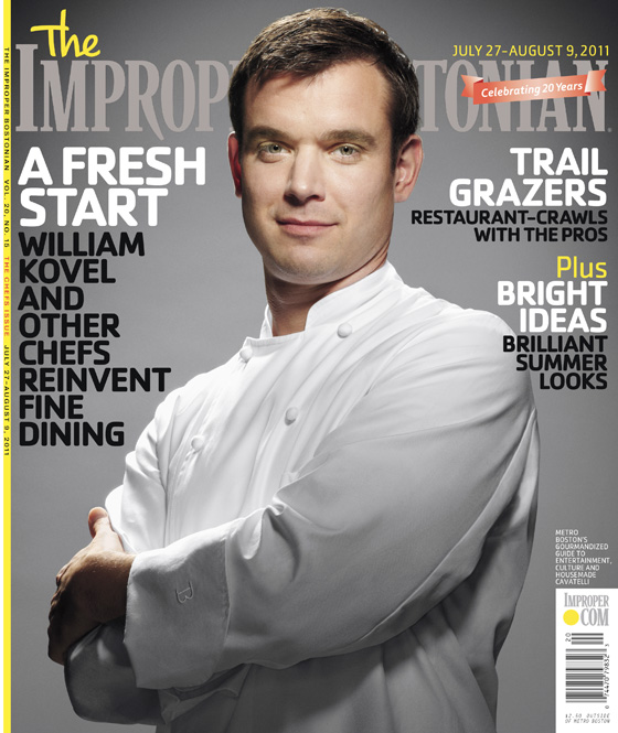 Adam DeTour, Improper Bostonian, Cover