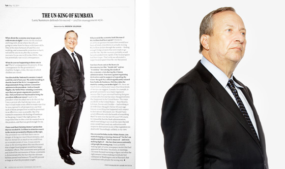 Larry Summers New York Times