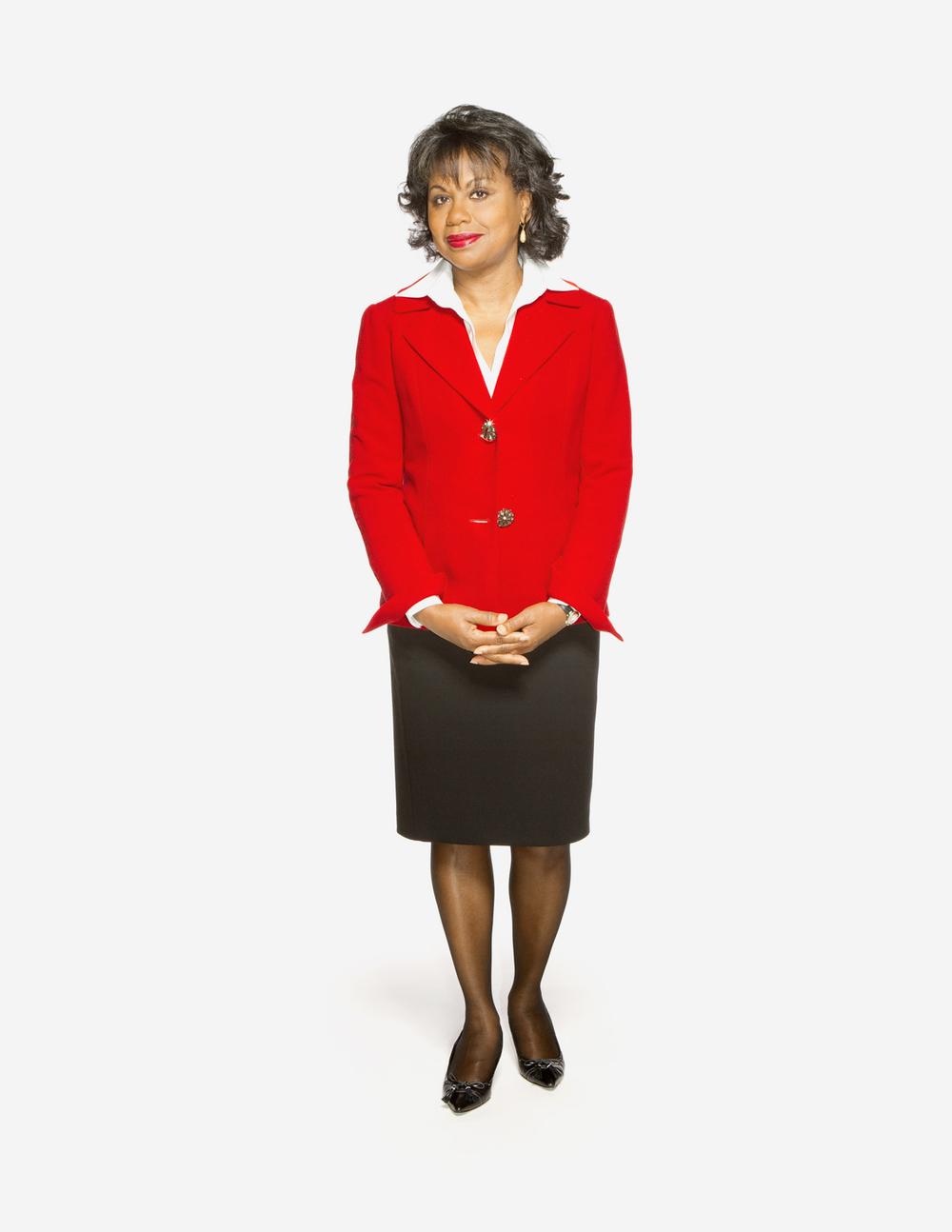 Anita Hill photographed by Adam DeTour